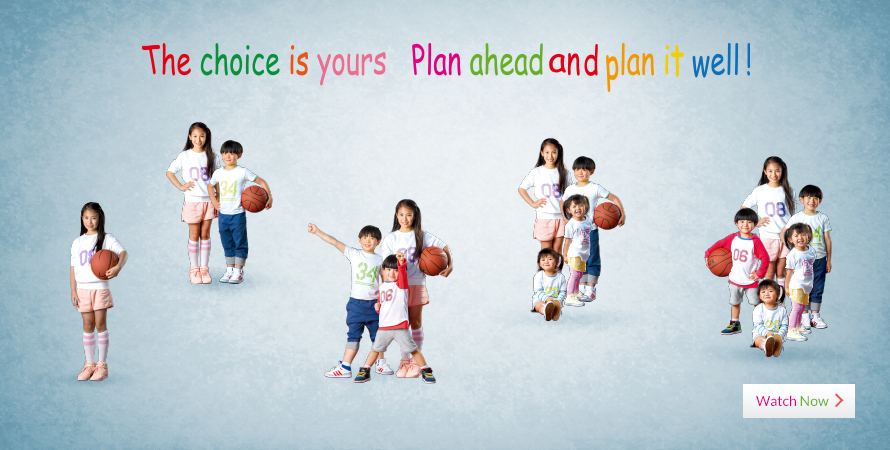 The choice is yours - Plan ahead and plan it well!