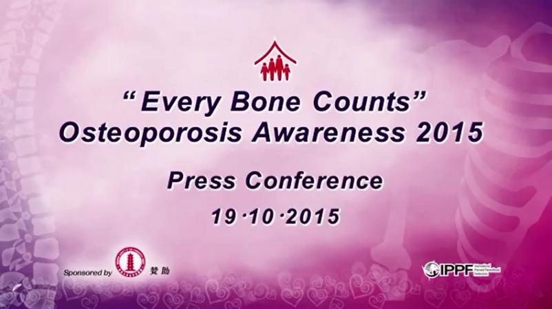 """Every Bone Counts"" — Osteoporosis Awareness 2015"